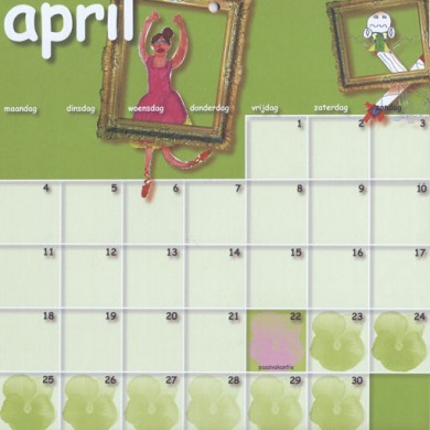 April - De Groen Design - Tijdschrift