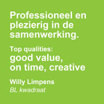 Good value on time creative - De Groen Design - Groene Blokken