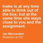 Close to you - De Groen Design - Oranje blokken