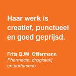 Creatief punctueel goed geprijsd - De Groen Design - Oranje blokken