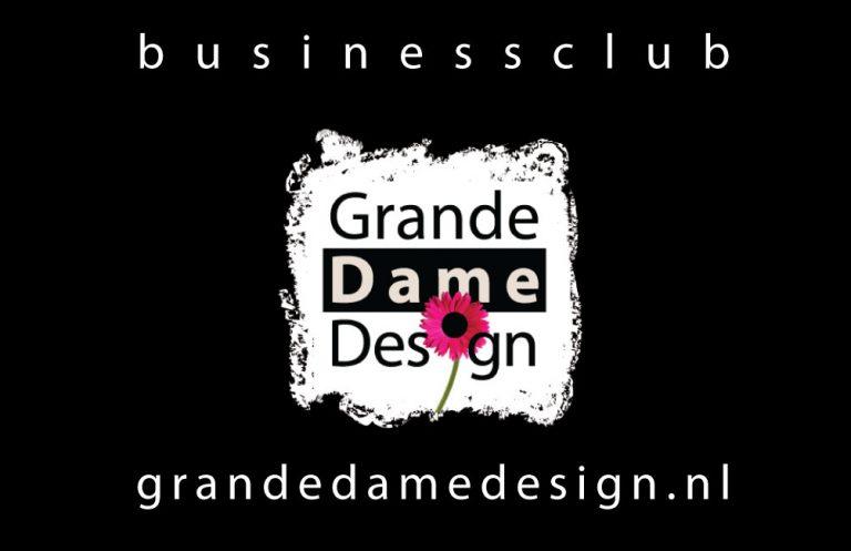 visitekaartje grande dame design