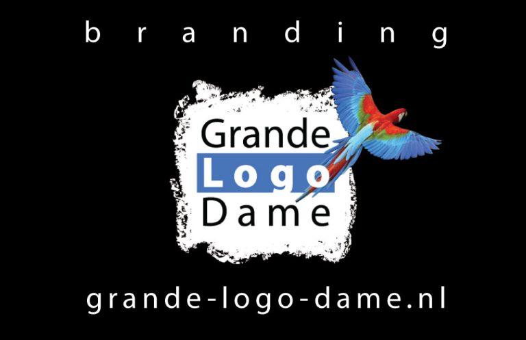 visitekaartje grande logo dame