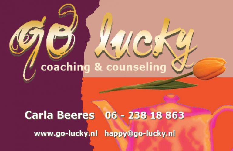 visitekaartje go lucky carla beeres