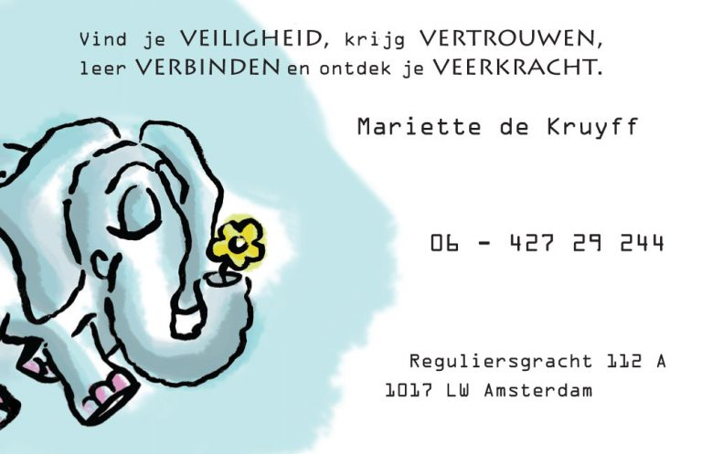 visitekaartje blinkk kindertherapie