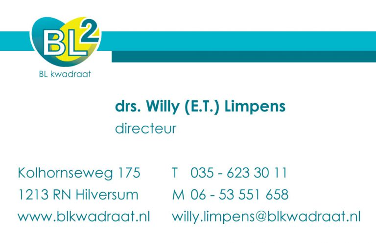 visitekaartje drs. willy limpens BL2